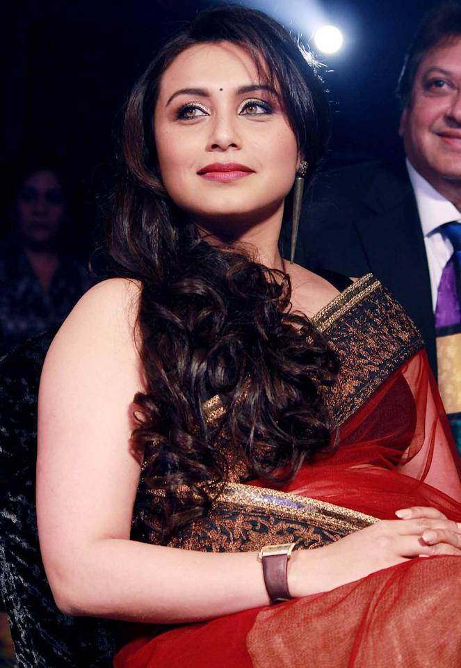 Actress Rani Mukerji now looks lovely in her traditional style with her grand sarees, however…