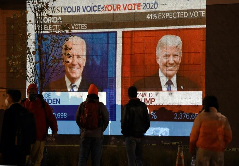 Democrat Joe Biden is hoping to unseat President Donald Trump in the most polarized US election for decades