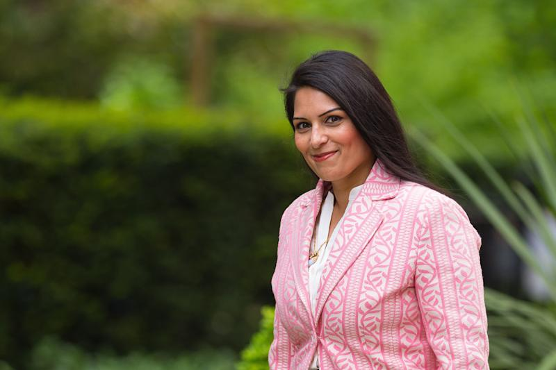 File photo dated 11/05/15 of Priti Patel arriving at 10 Downing Street as she was appointed Employment Minister following the general election.