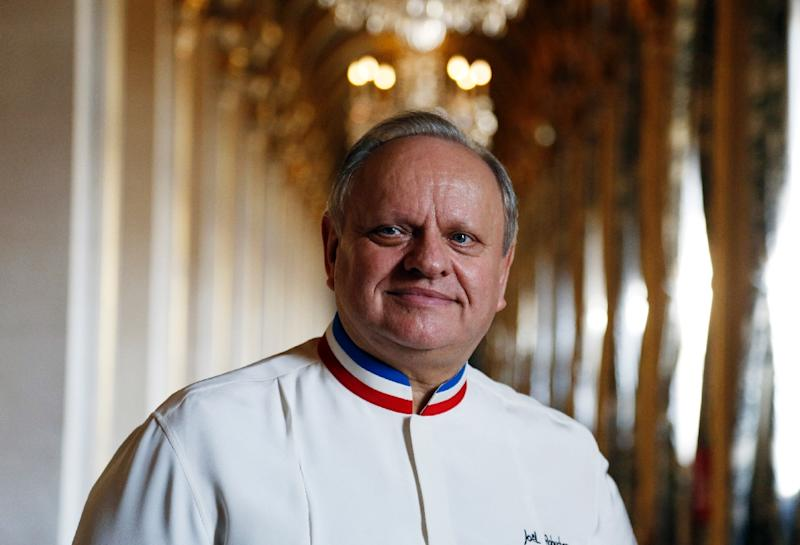 French chef Joel Robuchon, who at one point had 32 Michelin stars at the same time, died Monday in Geneva aged 73 (AFP Photo/FRANCOIS GUILLOT)