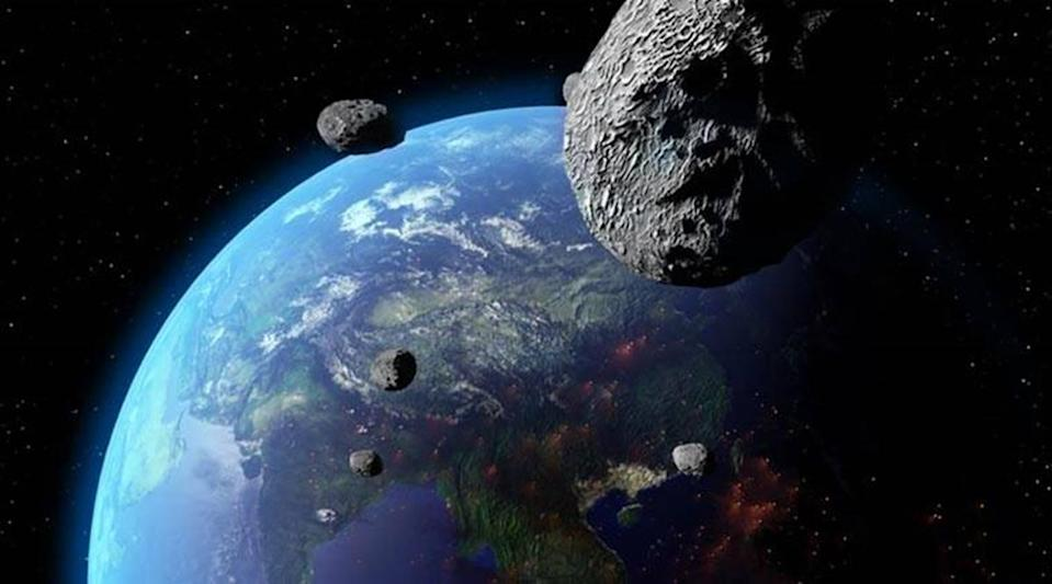 A giant asteroid is heading towards the Earth