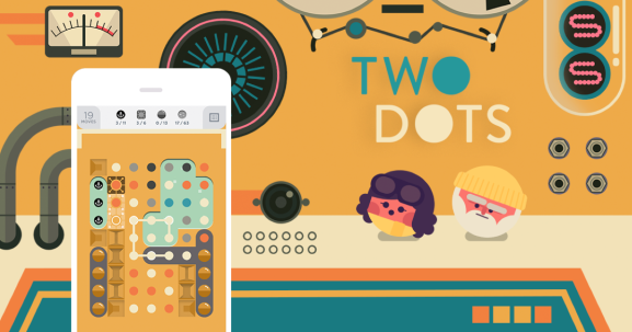 Two Dots from developer Playdots.