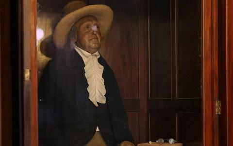 Jeremy Bentham on display at UCL - Credit: Andrew Crowley