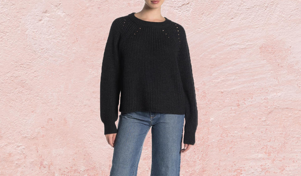 How gorgeous is this cashmere knit? (Photo: Nordstrom Rack)
