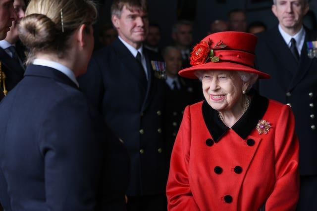 The Queen's reign has seen 14 presidents enter the White House