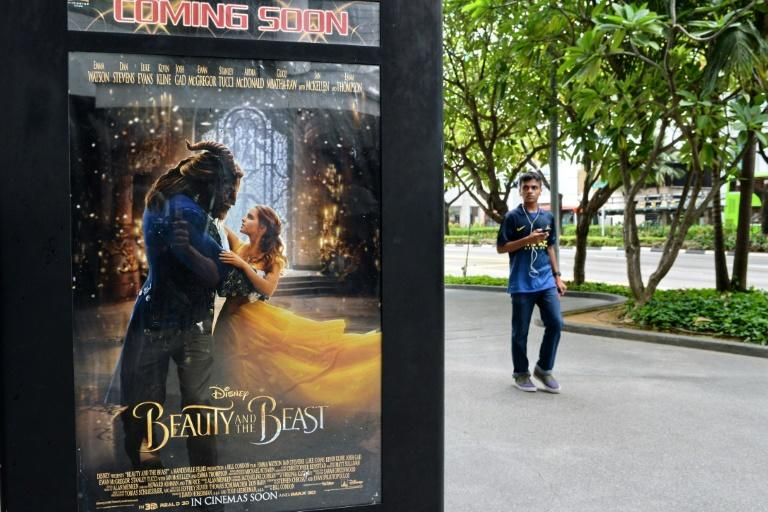 "Film site Fandango reported ""Beauty and the Beast"" had sold out at more than 1,000 showtimes in big cities and small, something more common for superhero blockbusters than for a family-oriented production"