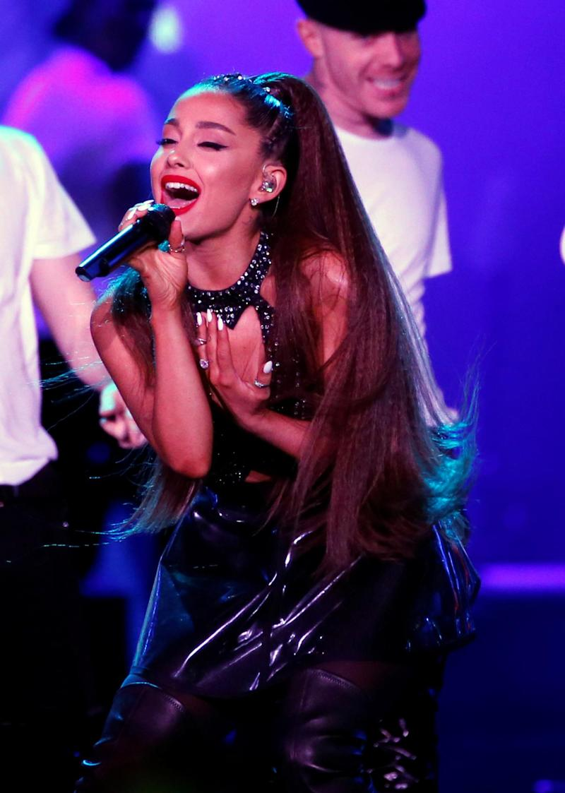 Ariana Grande is engaged to comedian Pete Davidson (Reuters)