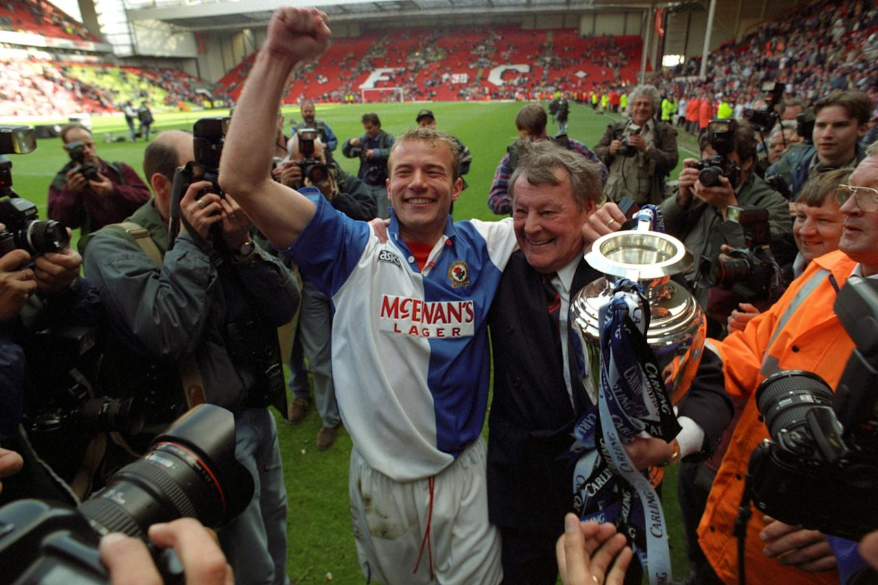 <p>Before Blackburn Rovers' only Premier League title in 1995, their previous top-flight title had been in the 1913-14 season.<br /> Honourable mentions:<br />Aston Villa (71 years, 1910-1981)<br /> Manchester City (44 years, 1968-2012)<br /> Burnley (39 years, 1921-1960)<br /> Meanwhile, Preston North End have not won a top-flight title since 1890 and West Brom since 1920. </p>