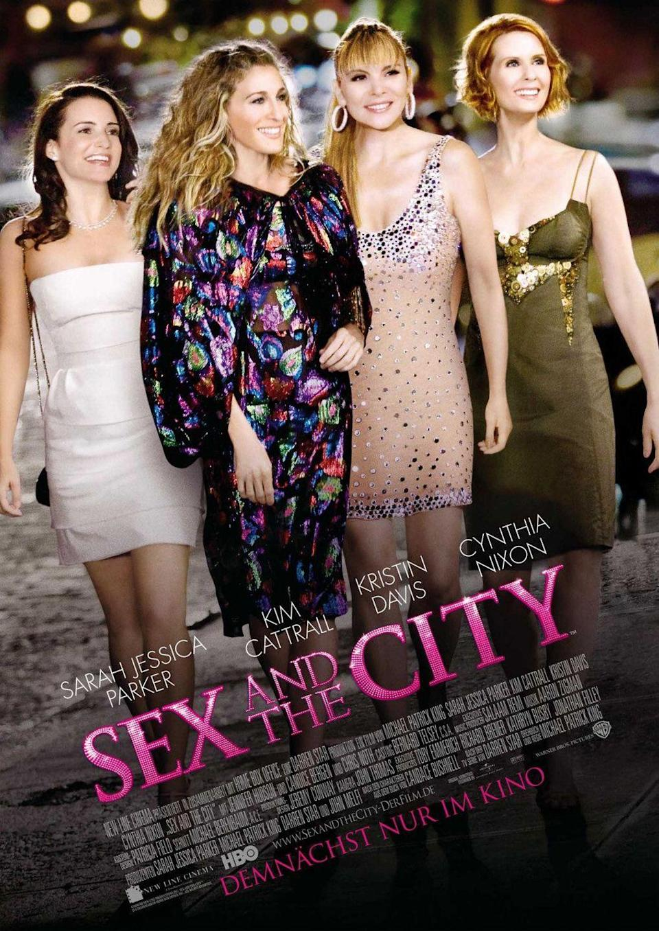 "<p>""Some love stories aren't epic novels. Some are short stories, but that doesn't make them any less filled with love.""<em><br><br>—Sex And The City </em>(2008)</p>"