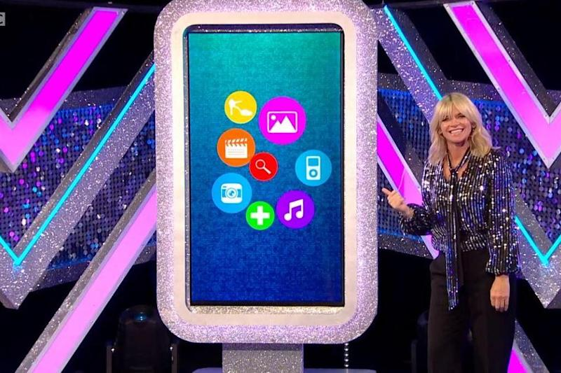 New set: Zoe Ball showed off It Takes Two's new features: BBC2