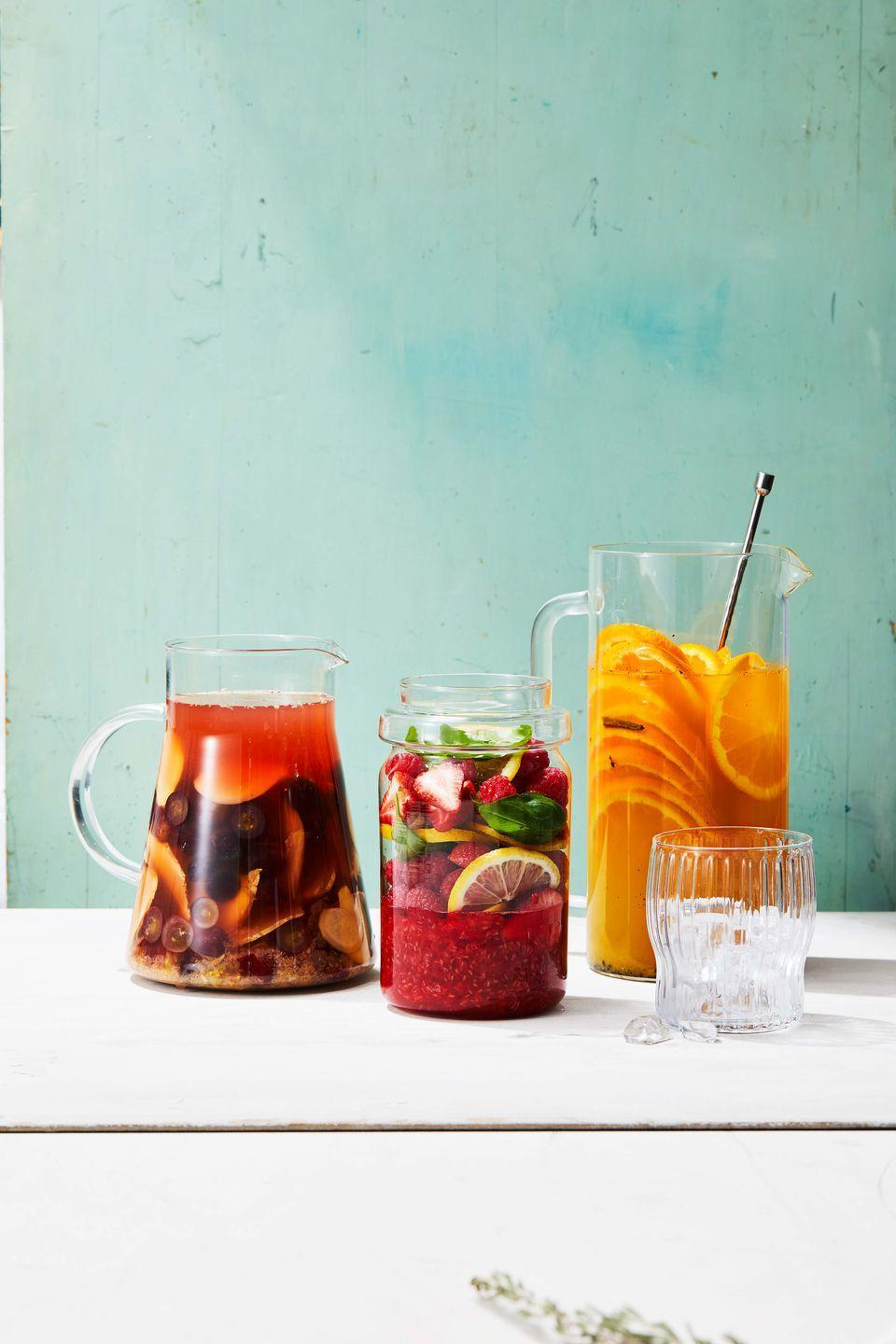 """<p>Real vanilla pods and fresh oranges give this fruity drink a sweet, fragrant flavor.</p><p><em><a href=""""https://www.goodhousekeeping.com/food-recipes/a27542776/vanilla-citrus-honey-sangria-recipe/"""" rel=""""nofollow noopener"""" target=""""_blank"""" data-ylk=""""slk:Get the recipe for Vanilla-Citrus-Honey Sangria »"""" class=""""link rapid-noclick-resp"""">Get the recipe for Vanilla-Citrus-Honey Sangria »</a></em></p>"""