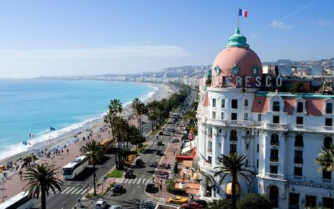 <span>Nice is the sun-kissed capital of the Côte d'Azur – a vibrant playground curving round the glorious sweep of the Bay of Angels</span> <span>Credit: CINTRACT ROMAIN </span>