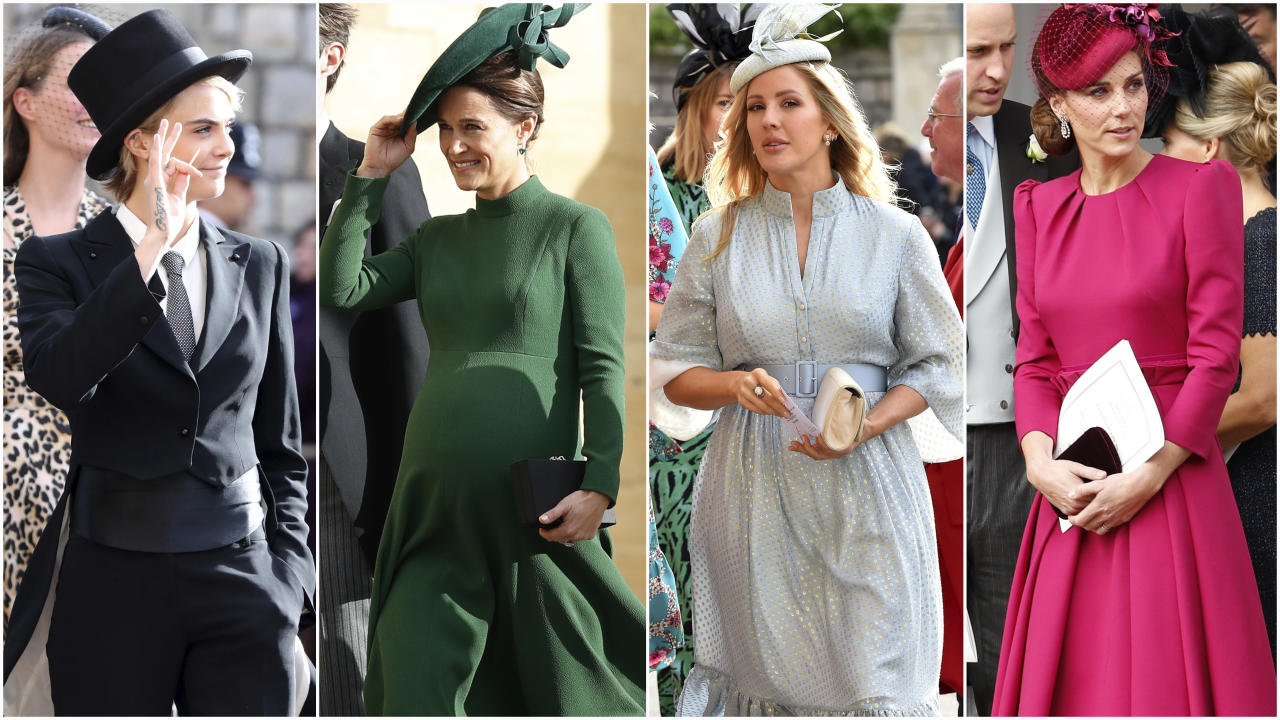 <p>Scroll through to see all the celebrity and royal guests at Princess Eugenie's royal wedding. </p>