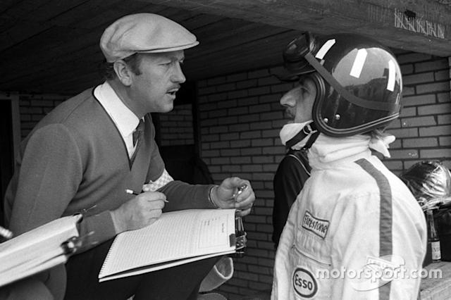 "Colin Chapman y Graham Hill <span class=""copyright"">Eric Koch</span>"