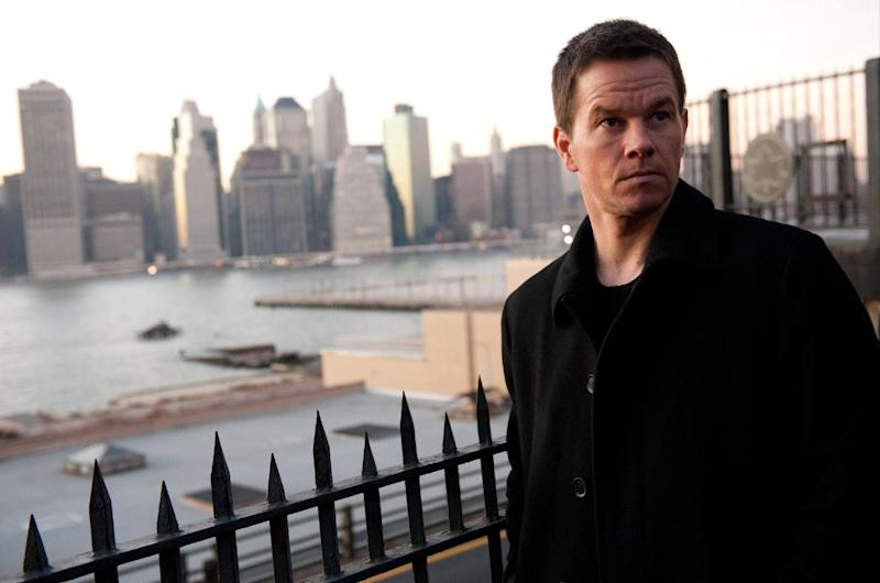 """This film image released by 20th Century Fox shows Mark Wahlberg in a scene from """"Broken City."""" (AP Photo/20th Century Fox, Barry Wetcher)"""