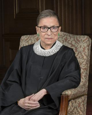 Ruth Bader Ginsburg. Collection of the Supreme Court of the United States