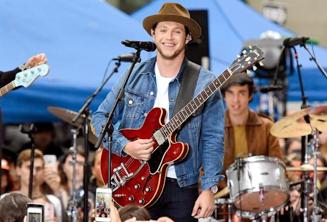 """<p>The singer performed his solo songs, plus One Direction's """"Best Song Ever,"""" on <i>Today</i>. Fans began lining up for the show two days in advance, and were delighted to receive pizza from the heartthrob. (Photo: Matthew Eisman/Getty Images) </p>"""