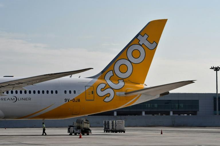 A Scoot plane. Yahoo News Singapore file photo.