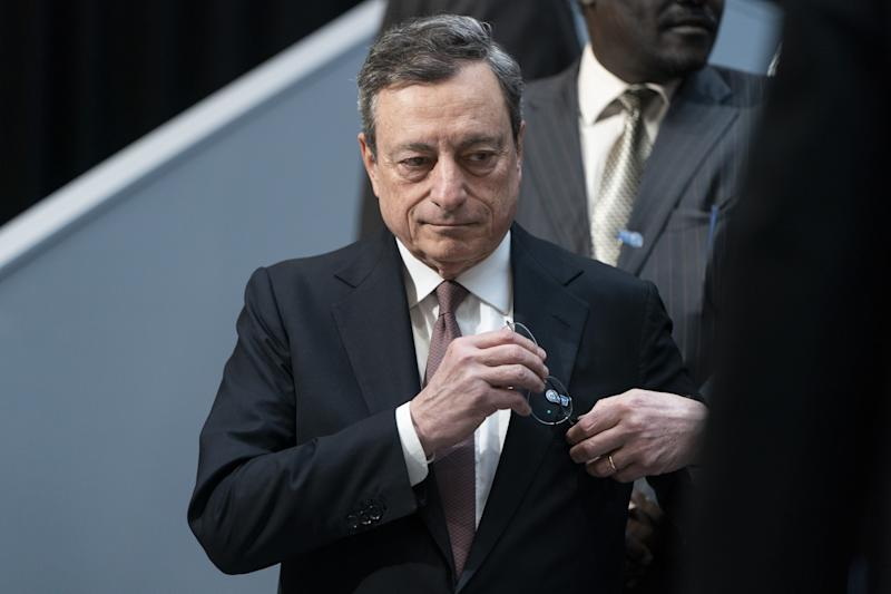 Brexit uncertainty weighs on eurozone growth, Draghi warns
