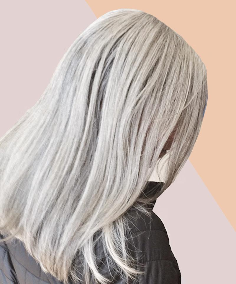 I Embraced My Gray Hair — But No One Else Did