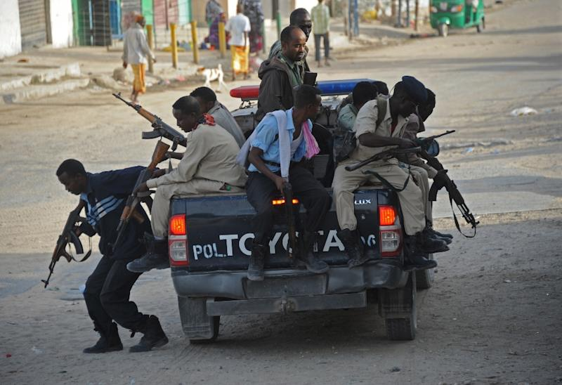 Somali security forces raided the offics of independent Universal TV in the capital Mogadishu