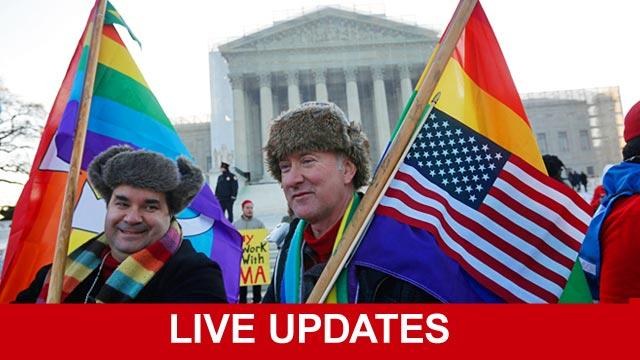 Live Updates: Gay Marriage at the Supreme Court
