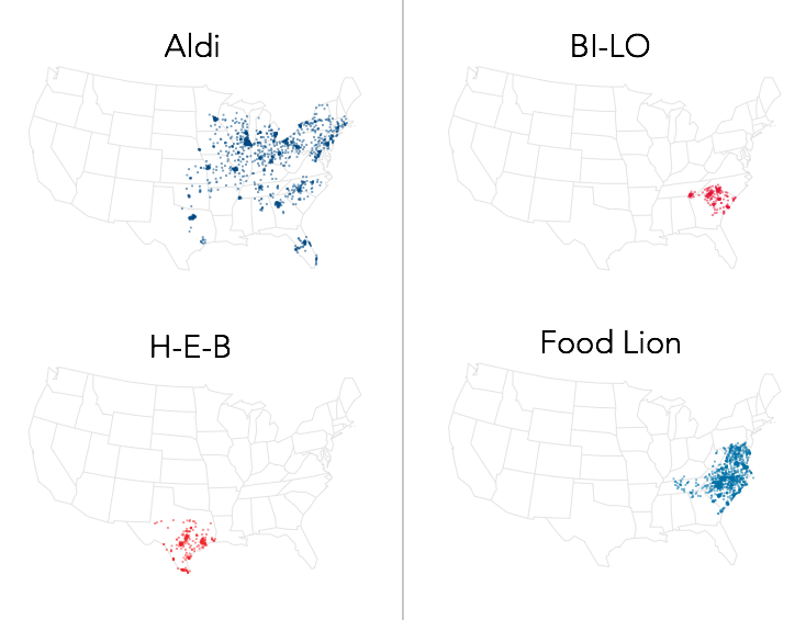 Why Walmart Still Hasn't Crushed the Regional Grocery Store