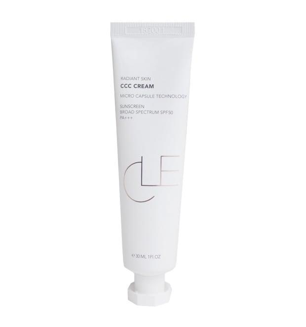 """<p>Cle Radiant Skin CCC Cream Broad Spectrum SPF 50 PA+++, $31, <a href=""""https://shop-links.co/1738228500768298484"""" rel=""""nofollow noopener"""" target=""""_blank"""" data-ylk=""""slk:available here"""" class=""""link rapid-noclick-resp"""">available here</a>.</p>"""
