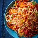 <p>Spiralized carrots come together quickly in this simple lemony side dish. Don't have a spiralizer? Use a julienne vegetable peeler to create the carrot strands.</p>