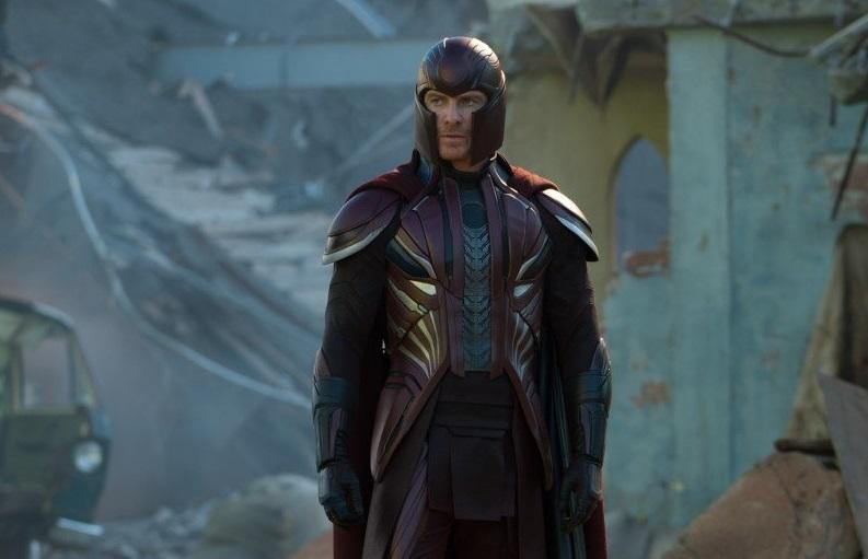 Michael Fassbender as Magneto in 2016's 'X-Men: Apocalypse' (credit: 20th Century Fox)