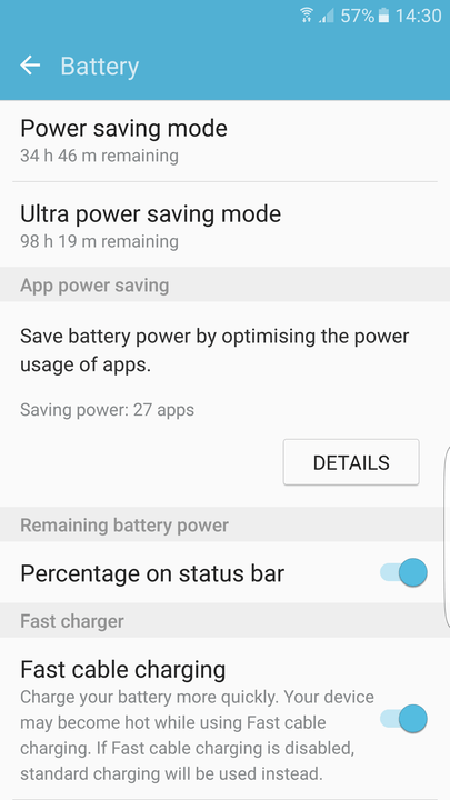 galaxy s tips and tricks edge battery