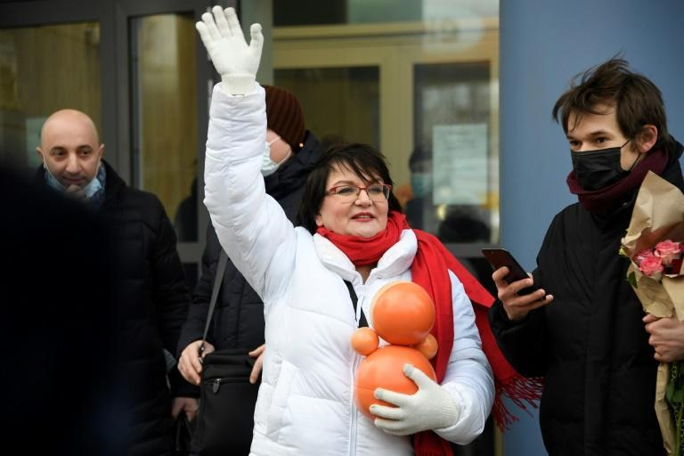 Yulia Galyamina was among the well-known opposition figures arrested