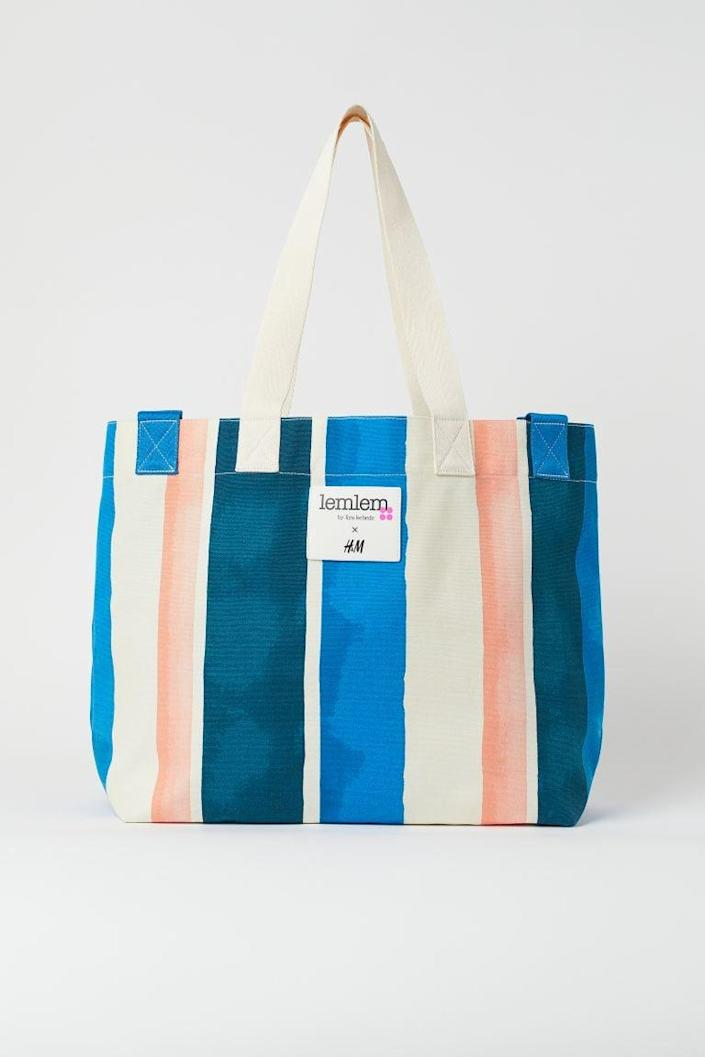 <p>This <span>Large Canvas Shopper</span> ($18) will become your go-to everyday, wear-everywhere bag.</p>