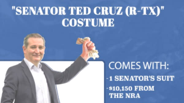 Samantha Bee Rips NRA-Beholden Senators With Spoof Halloween Costumes