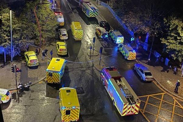 Emergency services near the River Lee, Tottenham: Ray Wise Photography