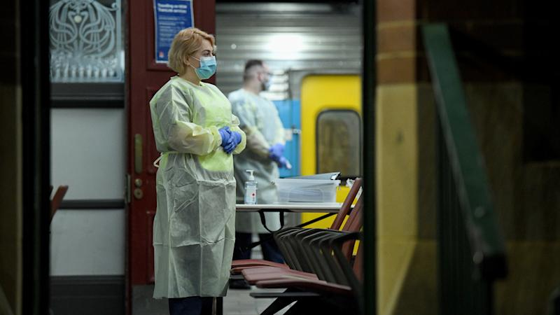 NSW Health staff have been screening passengers arriving by interstate trains