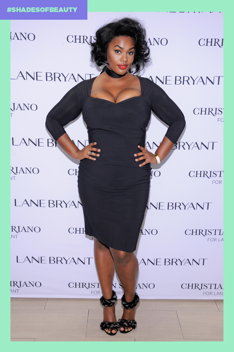 Plus-size model and activist Precious Lee. (Photo: Getty Images; Art by Quinn Lemmers for Yahoo Lifestyle)