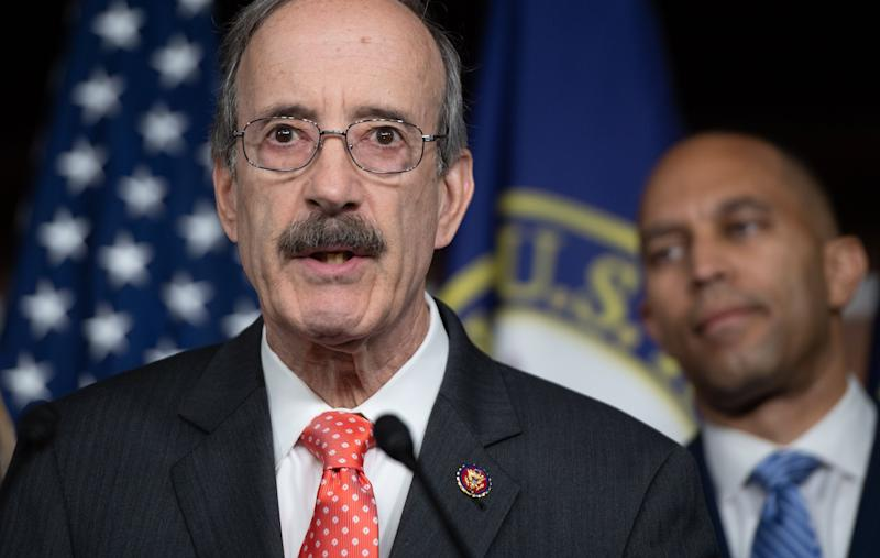 Rep. Eliot Engel (D-N.Y.) is one of the most powerful figures in Washington. His primary challenger Jamaal Bowman argues that Engel is out of touch with the district. (Photo: SAUL LOEB/Getty Images)