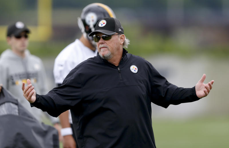 Randy Fichtner has been with the Steelers since 2007. He'll enter his first season as the team's offensive coordinator. (AP)