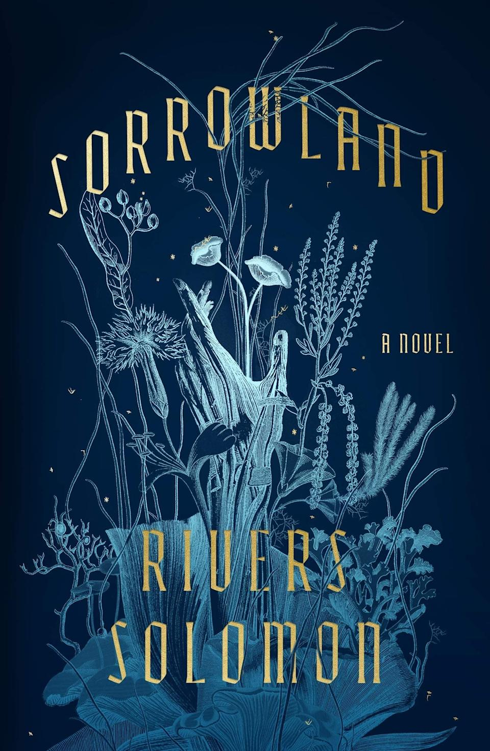 """Combining a dark, fictional world with real-life horrors, <em>Sorrowland </em>brings gothic literature into a whole new light. Telling the story of Vern and her ostracised life in the woods, her existence surrounds protecting her two young children from the outside world. But when she feels that her body is starting to change without her control, she has to go back to the religious compound she ran away from to get answers. With a terrifying history of medical experiments and genocide, Vern has to unravel the compound's terrifying past, discovering that the nightmares are far more systematic than she ever realised. <br><br><strong>Rivers Soloman</strong> Sorrowland, $, available at <a href=""""https://uk.bookshop.org/books/1608506589_sorrowland/9781529118735"""" rel=""""nofollow noopener"""" target=""""_blank"""" data-ylk=""""slk:bookshop.org"""" class=""""link rapid-noclick-resp"""">bookshop.org</a>"""