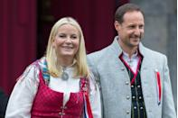 "<p>The Crown Princess has long championed HIV-AIDS-related causes since assuming her royal duties in 2001, when she married Crown Prince Haakon, the first-in-line to the royal throne of Norway. At the time of their marriage, Mette-Marit was described by <em><a href=""http://www.nytimes.com/2001/08/26/world/uncommon-royal-couple-exchange-vows-in-norway.html"" rel=""nofollow noopener"" target=""_blank"" data-ylk=""slk:The New York Times"" class=""link rapid-noclick-resp"">The New York Times</a></em> as ""no ordinary commoner,"" given her background as a former waitress with a history of heavy partying. Mette-Marit also raised eyebrows when she entered the marriage with a 4-year-old son named Marius from a previous relationship. (See next entry.)</p>"