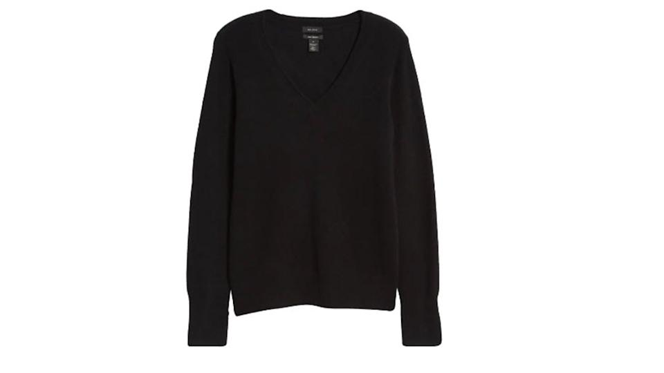 Halogen V-Neck Cashmere Sweater - $49 (originally $98)