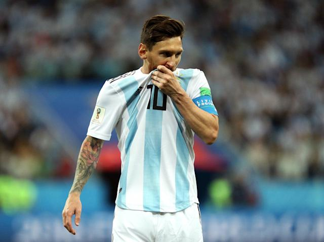 Lionel Messi's World Cup dream turned into a nightmare in a game that could go down as one of Argentina's most infamous defeats