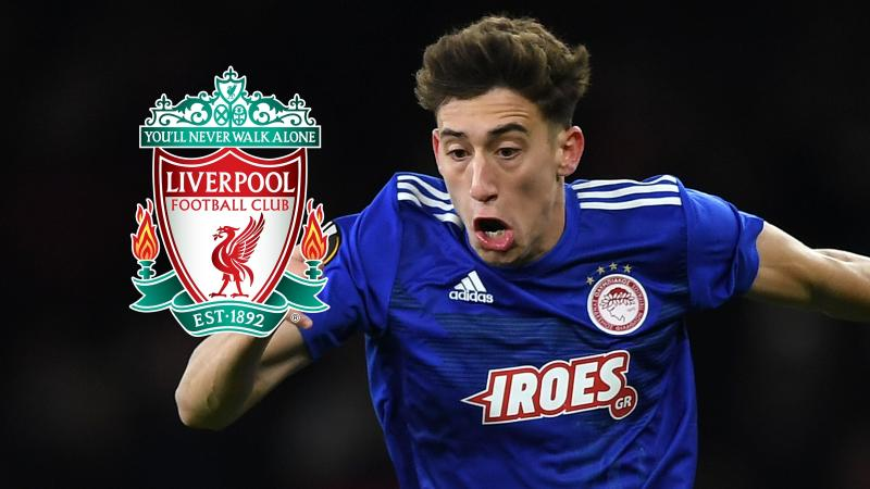 Liverpool confirm £11.75m signing of defender Tsimikas from Olympiacos