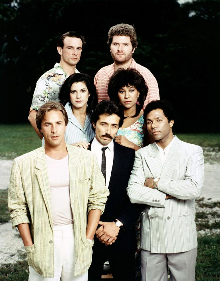 "<p><strong>Original run: </strong><span>1984-1990, NBC</span><br /><strong>Reboot status: </strong><span>The '80s drama following two undercover detectives (Don Johnson, Phillip Michael Thomas) was a smash hit for NBC. Now <a rel=""nofollow"" href=""https://www.yahoo.com/tv/miami-vice-reboot-works-nbc-vin-diesel-production-183042526.html"">Vin Diesel's production company</a> is spearheading an NBC reboot, which is in development for the 2018-2019 television season. </span><br /> (Photo: Everett Collection) </p>"