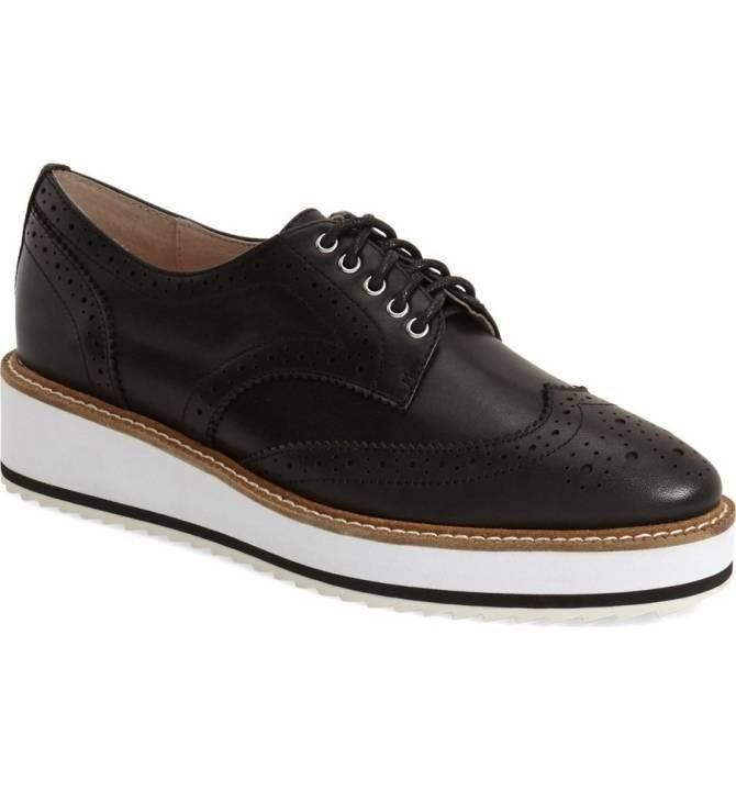 """Perfect for <a href=""""http://shop.nordstrom.com/s/shellys-london-emma-platform-oxford-women/4281143?origin=keywordsearch-personalizedsort&fashioncolor=BLACK%20LEATHER"""" target=""""_blank"""">weekend wear</a> and office style."""