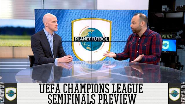 Grant Wahl and Luis Miguel Echegaray make their picks for the two Champions League semifinals matchups. Which two of Roma, Bayern Munich, Real Madrid and Liverpool will reach the Championship match?