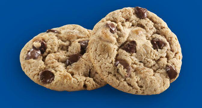 <p>These get some props for how delicious they are (I mean you can't really go wrong with caramel and chocolate), but this is a bit like any other cookie you can get out there in the world. They're good but not super special. Still, we'll happily eat the whole box. </p>