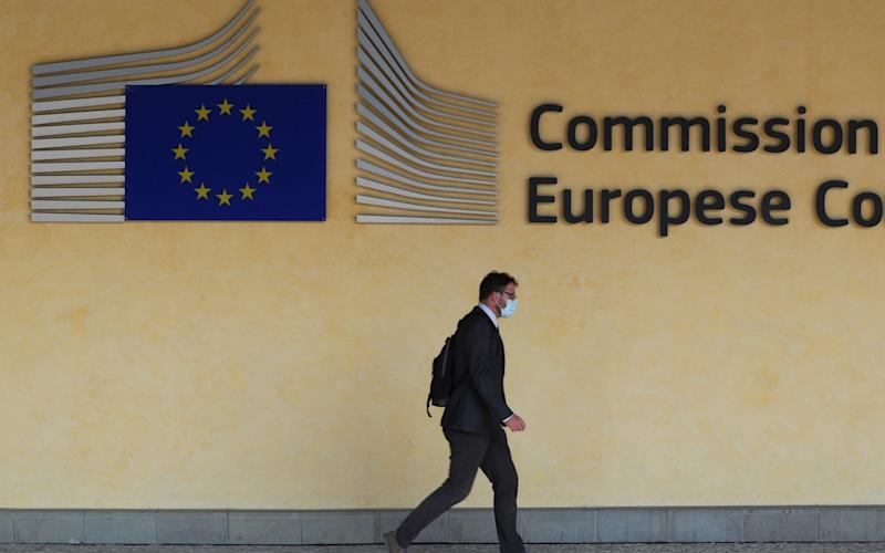 The alleged spying occurred by a former member of the European Commission. - YVES HERMAN/REUTERS