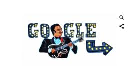 Google Doodle pays tribute to late BB King on the 94th birthday
